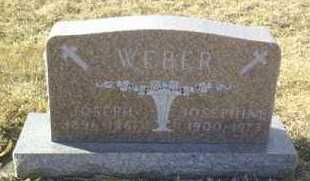 WEBER, JOSEPHINE - Hutchinson County, South Dakota | JOSEPHINE WEBER - South Dakota Gravestone Photos