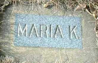 WEBER, MARIA - Hutchinson County, South Dakota   MARIA WEBER - South Dakota Gravestone Photos