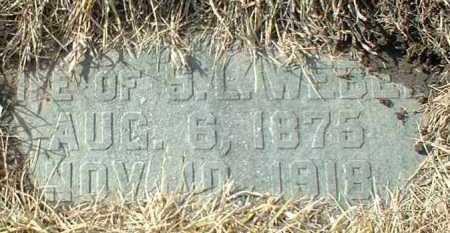SCHOENFELDER WEBER, MARY - Hutchinson County, South Dakota | MARY SCHOENFELDER WEBER - South Dakota Gravestone Photos