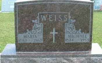 WEISS, MICHAEL - Hutchinson County, South Dakota | MICHAEL WEISS - South Dakota Gravestone Photos