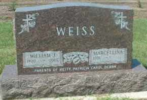 WEISS, MARCELLINA - Hutchinson County, South Dakota | MARCELLINA WEISS - South Dakota Gravestone Photos