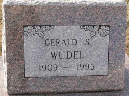 WUDEL, GERALD S. - Hutchinson County, South Dakota | GERALD S. WUDEL - South Dakota Gravestone Photos