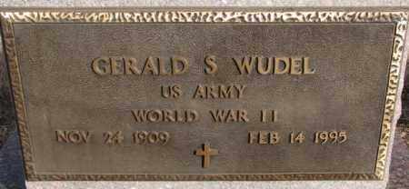 WUDEL, GERALD S. (WW II) - Hutchinson County, South Dakota | GERALD S. (WW II) WUDEL - South Dakota Gravestone Photos