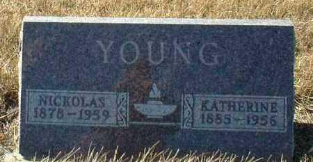 YOUNG, NICKOLAS - Hutchinson County, South Dakota | NICKOLAS YOUNG - South Dakota Gravestone Photos