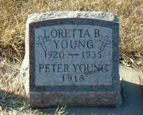 YOUNG, LORETTA - Hutchinson County, South Dakota | LORETTA YOUNG - South Dakota Gravestone Photos