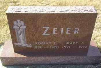 ZEIER, ROBERT - Hutchinson County, South Dakota | ROBERT ZEIER - South Dakota Gravestone Photos