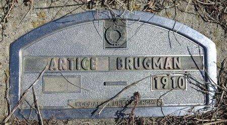 BRUGMAN, ARTICE - Jackson County, South Dakota   ARTICE BRUGMAN - South Dakota Gravestone Photos