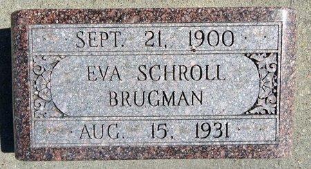 BRUGMAN, EVA - Jackson County, South Dakota | EVA BRUGMAN - South Dakota Gravestone Photos