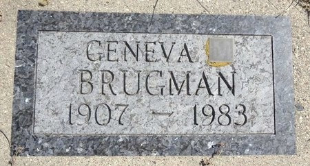 BRUGMAN, GENEVA - Jackson County, South Dakota | GENEVA BRUGMAN - South Dakota Gravestone Photos