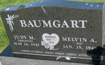 SPRAGUE BAUMGART, JUDY M. - Jerauld County, South Dakota | JUDY M. SPRAGUE BAUMGART - South Dakota Gravestone Photos