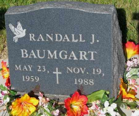 BAUMGART, RANDALL J. - Jerauld County, South Dakota | RANDALL J. BAUMGART - South Dakota Gravestone Photos