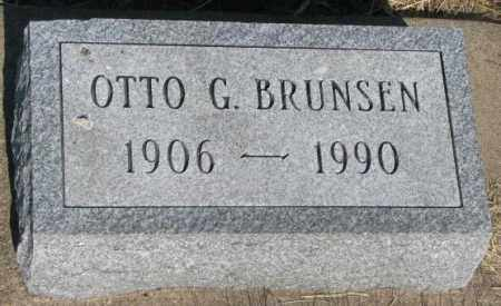 BRUNSEN, OTTO G. - Jerauld County, South Dakota | OTTO G. BRUNSEN - South Dakota Gravestone Photos