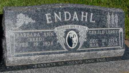 REED ENDAHL, BARBARA ANN - Jerauld County, South Dakota | BARBARA ANN REED ENDAHL - South Dakota Gravestone Photos
