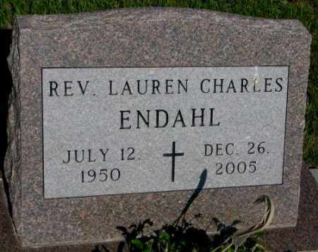 ENDAHL, LAUREN CHARLES REV. - Jerauld County, South Dakota | LAUREN CHARLES REV. ENDAHL - South Dakota Gravestone Photos