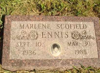 ENNIS, MARLENE - Jerauld County, South Dakota | MARLENE ENNIS - South Dakota Gravestone Photos