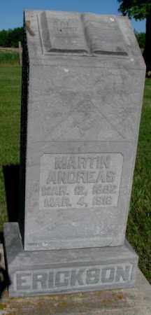 ERICKSON, MARTIN ANDREAS - Jerauld County, South Dakota | MARTIN ANDREAS ERICKSON - South Dakota Gravestone Photos
