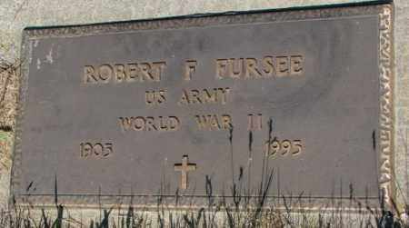 FURSEE, ROBERT F. (WW II) - Jerauld County, South Dakota | ROBERT F. (WW II) FURSEE - South Dakota Gravestone Photos