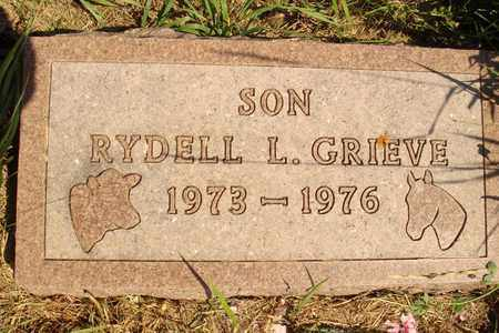 GRIEVE, RYDELL L. - Jerauld County, South Dakota | RYDELL L. GRIEVE - South Dakota Gravestone Photos
