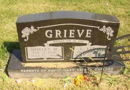 GRIEVE, L. LEROY - Jerauld County, South Dakota | L. LEROY GRIEVE - South Dakota Gravestone Photos
