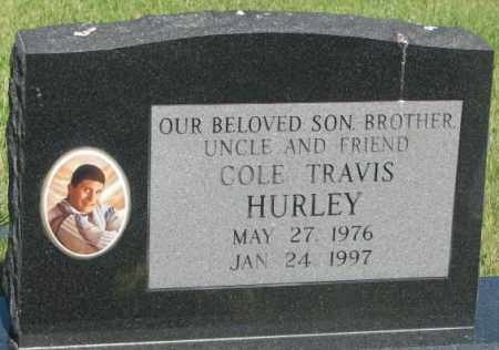 HURLEY, COLE TRAVIS - Jerauld County, South Dakota | COLE TRAVIS HURLEY - South Dakota Gravestone Photos