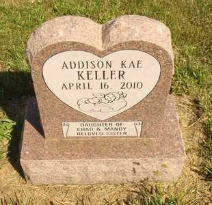 KELLER, ADDISON KAE - Jerauld County, South Dakota | ADDISON KAE KELLER - South Dakota Gravestone Photos