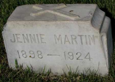 MARTIN, JENNIE - Jerauld County, South Dakota | JENNIE MARTIN - South Dakota Gravestone Photos