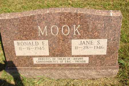 MOOK, JANE S. - Jerauld County, South Dakota | JANE S. MOOK - South Dakota Gravestone Photos