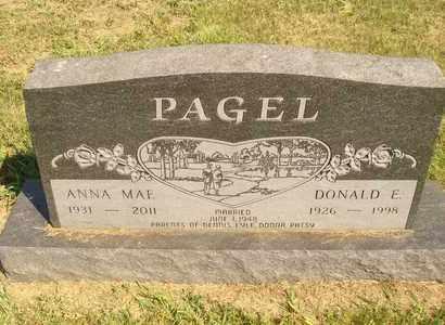 PAGEL, DONALD E. - Jerauld County, South Dakota | DONALD E. PAGEL - South Dakota Gravestone Photos
