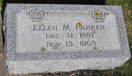 PARKER, ELLEN M. - Jerauld County, South Dakota   ELLEN M. PARKER - South Dakota Gravestone Photos