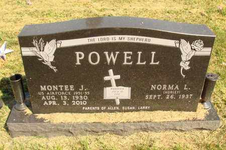 HURLEY POWELL, NORMA L. - Jerauld County, South Dakota   NORMA L. HURLEY POWELL - South Dakota Gravestone Photos