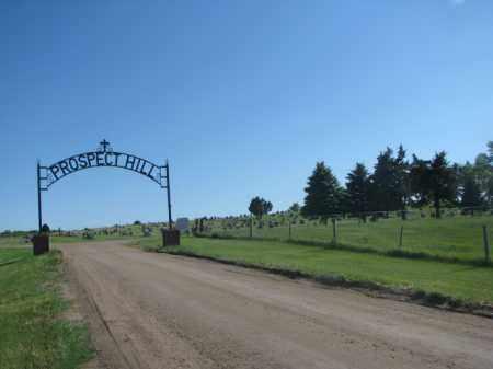 *PROSPECT HILL, ENTRANCE - Jerauld County, South Dakota | ENTRANCE *PROSPECT HILL - South Dakota Gravestone Photos