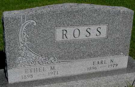 ROSS, EARL N. - Jerauld County, South Dakota | EARL N. ROSS - South Dakota Gravestone Photos