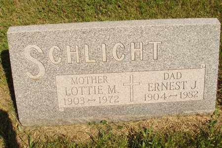 SCHLICHT, EARNEST J. - Jerauld County, South Dakota | EARNEST J. SCHLICHT - South Dakota Gravestone Photos