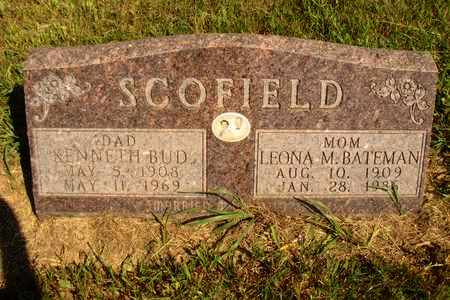 SCOFIELD, KENNETH BUD - Jerauld County, South Dakota | KENNETH BUD SCOFIELD - South Dakota Gravestone Photos