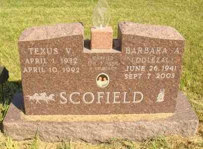 SCOFIELD, TEXUS V. - Jerauld County, South Dakota | TEXUS V. SCOFIELD - South Dakota Gravestone Photos