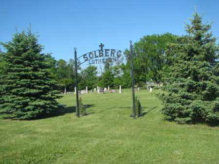 *SOLBERG, ENTRANCE - Jerauld County, South Dakota | ENTRANCE *SOLBERG - South Dakota Gravestone Photos