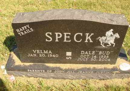 "SPECK, DALE ""BUD"" - Jerauld County, South Dakota 