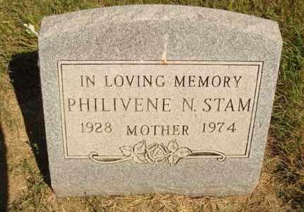 STAM, PHILIVENE N. - Jerauld County, South Dakota | PHILIVENE N. STAM - South Dakota Gravestone Photos