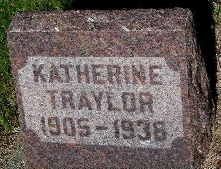 TRAYLOR, KATHERINE - Jerauld County, South Dakota | KATHERINE TRAYLOR - South Dakota Gravestone Photos