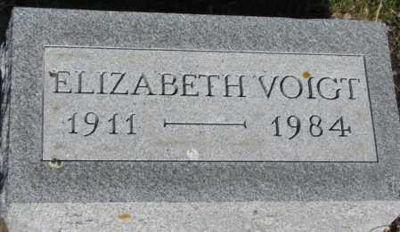 VOIGT, ELIZABETH - Jerauld County, South Dakota | ELIZABETH VOIGT - South Dakota Gravestone Photos