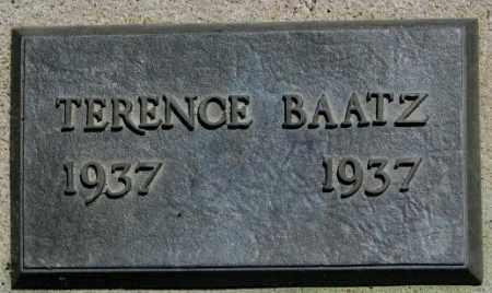BAATZ, TERENCE - Jones County, South Dakota   TERENCE BAATZ - South Dakota Gravestone Photos