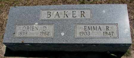 BAKER, EMMA R. - Jones County, South Dakota | EMMA R. BAKER - South Dakota Gravestone Photos