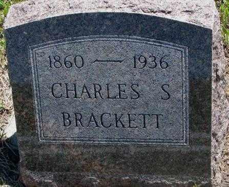 BRACKETT, CHARLES S. - Jones County, South Dakota   CHARLES S. BRACKETT - South Dakota Gravestone Photos