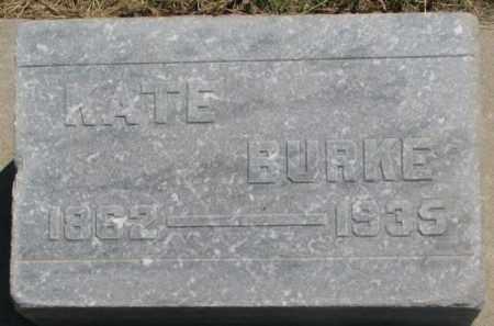 BURKE, KATE - Jones County, South Dakota | KATE BURKE - South Dakota Gravestone Photos
