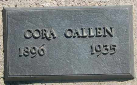 CALLEN, CORA - Jones County, South Dakota | CORA CALLEN - South Dakota Gravestone Photos
