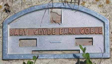 COBLE, CLYDE EARL - Jones County, South Dakota   CLYDE EARL COBLE - South Dakota Gravestone Photos
