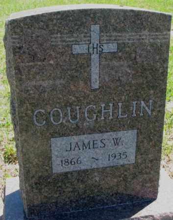COUGHLIN, JAMES W. - Jones County, South Dakota | JAMES W. COUGHLIN - South Dakota Gravestone Photos