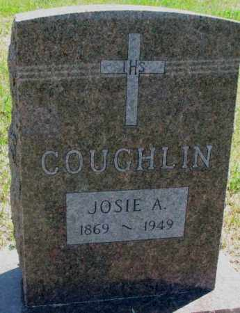 COUGHLIN, JOSIE A. - Jones County, South Dakota | JOSIE A. COUGHLIN - South Dakota Gravestone Photos