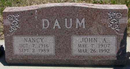 DAUM, NANCY - Jones County, South Dakota | NANCY DAUM - South Dakota Gravestone Photos
