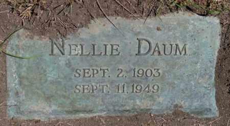 DAUM, NELLIE - Jones County, South Dakota | NELLIE DAUM - South Dakota Gravestone Photos
